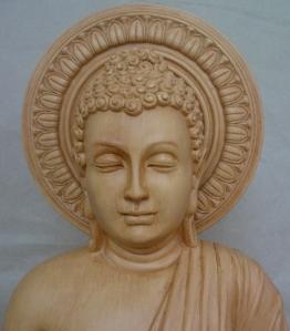 Sakyamuni Buddha carved by Master Tony Chew