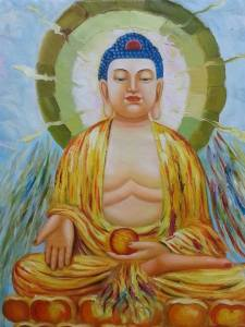 Buddha painted by Master Tony Chew2