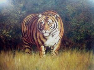 Painting of a Tiger by Master Tony(2)