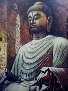 Painting of Buddha by Master Tony